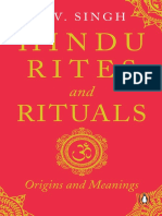Hindu Rites and Rituals Origins and Meanings by K.V. Singh