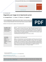 Diagnostico por imagen de Hipertensión portal