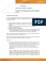 Taller Transacciones contables 4 Contabilidad F II