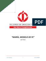 06_RETIRO MARIA, MODELO DE FE - SEXTO DIA