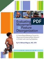 Evaluating, movement _ Posture disorganization