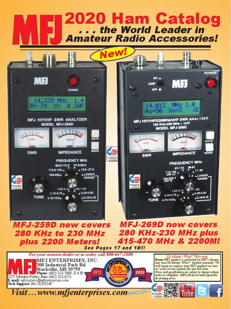 alpha-grp.co.jp MFJ-2289PKG Package Includes MFJ-2289 Portable ...