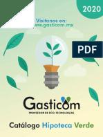 GASTICOM - Catálogo Ecotecnologías - Mayo 2020