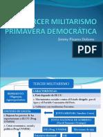 TERCER MILITARISMO-PRIMAVERA DEMOCRÁTICA.ppt