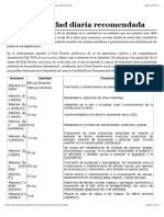 Anexo:Cantidad diaria recomendada - Wikipedia, la enciclopedia libre