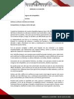 Mensaje a la Nación de Martín Vizcarra - 28 de julio del 2020