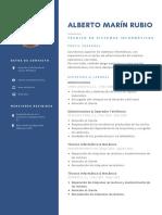 Currículum Vitae Alberto Marín 28-07-2020