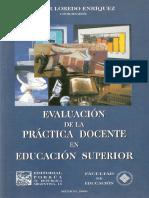 Evaluación de la práctica docente