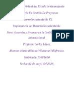 Foro_ Acuerdos y avances en la gestión ambiental internacional