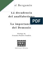 Mportancia Del Demonio (prólogo)