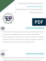 Clase 3 - Modelo Cuantitativos en la Toma de Decisiones - Árbol de decisión - Teams