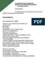 PREVENCION DE MATONEO - para combinar