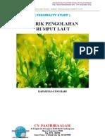 Peluang usaha rumput laut