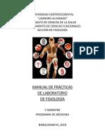 MANUAL DE PRACTICAS FISIOLOGIA II 2018-II