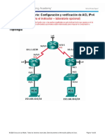 7.2.2.6 Lab - Configuring and Modifying Standard IPv4 ACLs - ILM