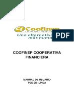 Instructivo PSE en Linea -  COOFINEP
