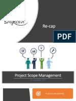 5. Project Scope  Management
