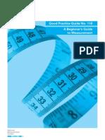 Beginner's Guide to Measurement