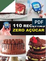 110 receitas deliciosas zero açúcar