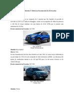 Vehículos híbridos y eléctricos comerciales en Ecuador
