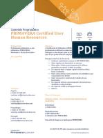 APG015_PRIMAVERA_Certified_User_Human_Resources