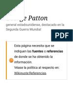 George Patton citas