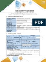 Guía de actividades y rúbrica de evaluación - Fase 2 - Música del siglo XX y principales características