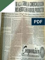 Agro y Política III  - Fuente C2 Olivera