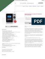 Modello_ M6990 - Prova di tenuta a calo assoluto di pressione entry level M6990 - For Test