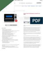 Modello_ M8960 - Prova di tenuta differenziale standard level M8960 - For Test