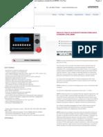 Modello_ M8980 - Prova di tenuta ad intercettazione_compliance standard level M8980 - For Test