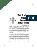 (txt 6) MAR+ìN-D+ìAZ, Dora Lilia. Morte da inf+óncia ou constru+º+úo da quimera infantil.pdf
