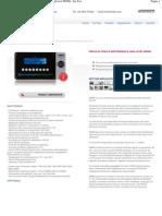 Modello_ M9960 - Prova di tenuta differenziale high level M9960 - For Test