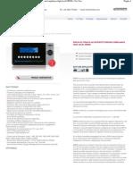Modello_ M9980 - Prova di tenuta ad intercettazione_compliance high level M9980 - For Test