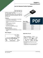 IR reciever - TSOP1136.pdf