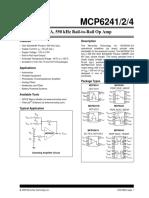OpAmp - MCP6241.pdf