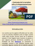 WebQuest Contraste de la narrativa  puertorriqueña y la narrativa hispanoamericana