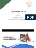CLASE SEMANA 1 GENERALIDADES PRINCIPIOS DE CONTABILIDAD
