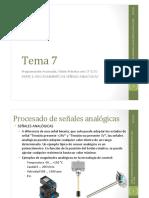 Tema 7. Programación Avanzada. Visión Prác4ca con S PARTE 1_ PROCESAMIENTO DE SEÑALES ANALÓGICAS 10_11_14.pdf