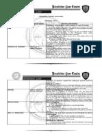 Crim Law FAQs 2009