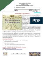 Guia 2 - Renacimiento y humanismo