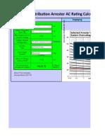 distribution_arrester_ac_rating_calculator