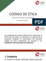 CODIGO DE ETICA - VALUACION INMOBILIARIA