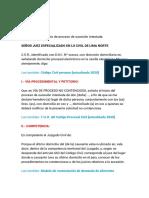 MODELO DEMANDA DE SUSECION INTESTADA