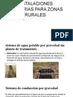 INSTALACIONES SANITARIAS PARA ZONAS RURALES.pptx
