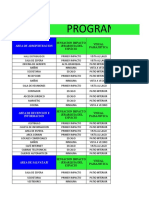 club recrecional nautico, programa arq