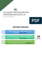 Ringkasan Pedoman Pencegahan & Pengendalian Covid-19
