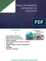 TEMA 7 - SEGUROS DEL TRASPORTE INTERNACIONAL DE MERCANCIAS