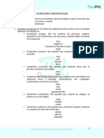 1. CATEGORÍAS GRAMATICALES