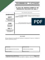 PE-10-SIMABGL1-001 - Plano Diretor de Resíduos Sólidos (E)